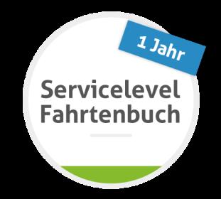 Servicelevel Fahrtenbuch - 12 Monate