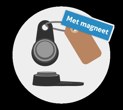 ID Key met magneet