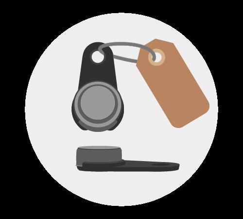 ID Key zonder magneet