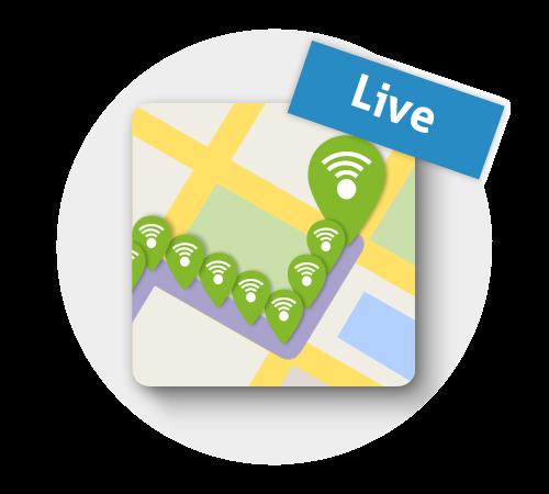 Live locaties - Professional