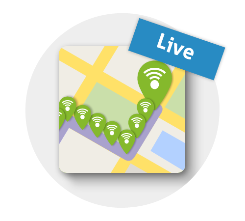 Live locaties - OTM